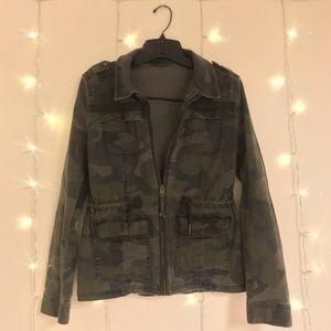 Express camo army jacket